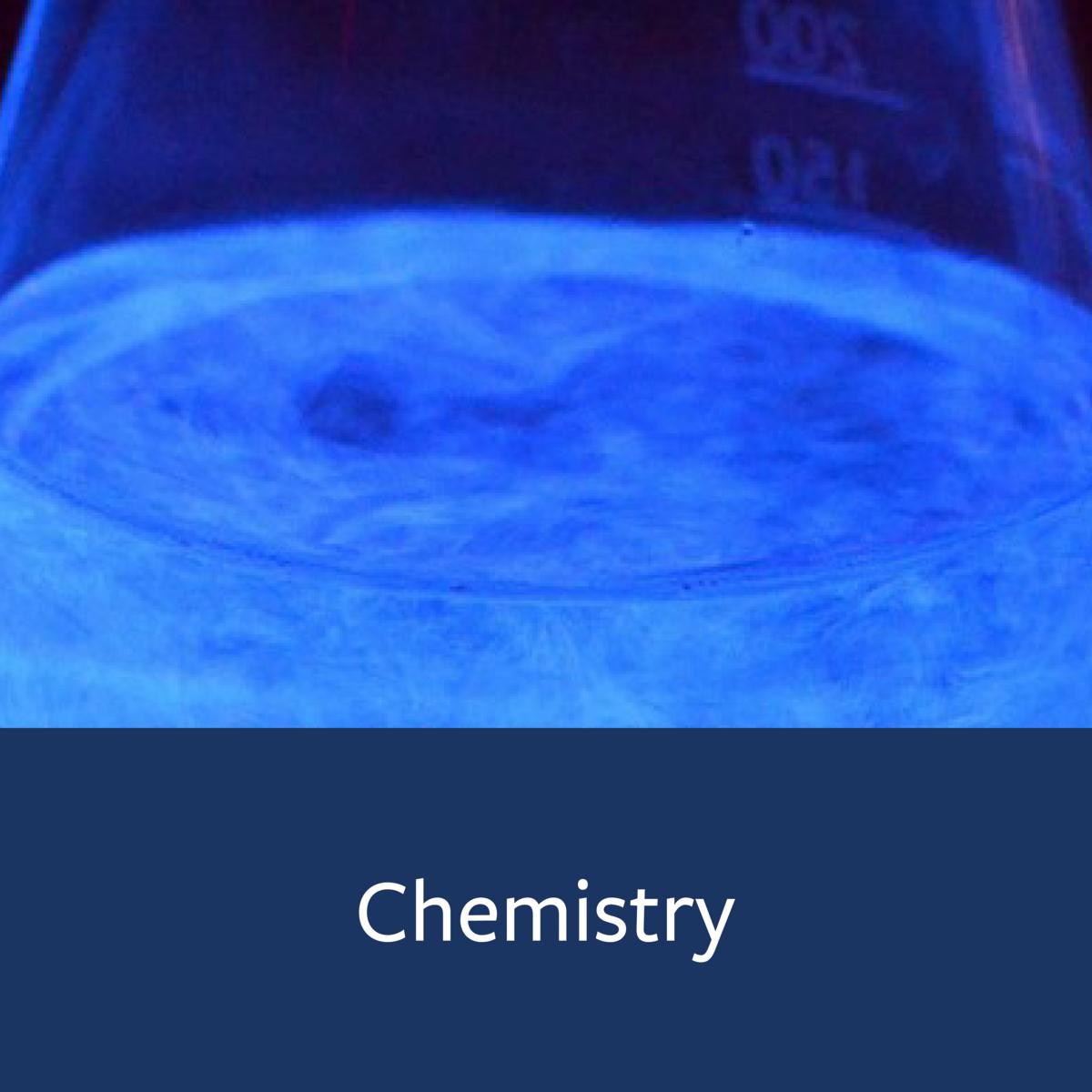 Chemistry Major Map