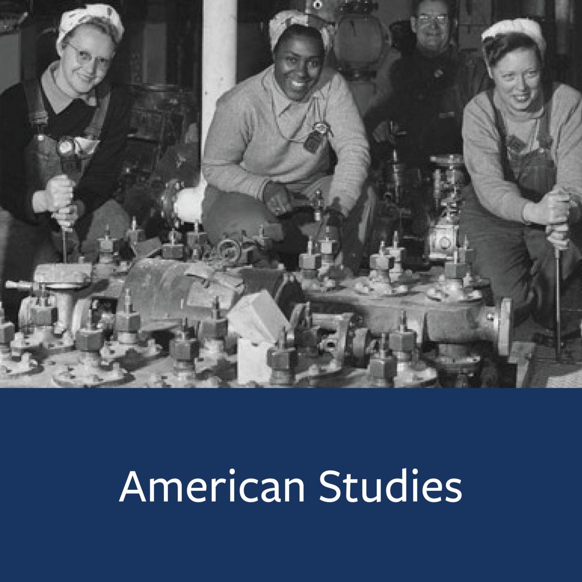 American Studies Major Map