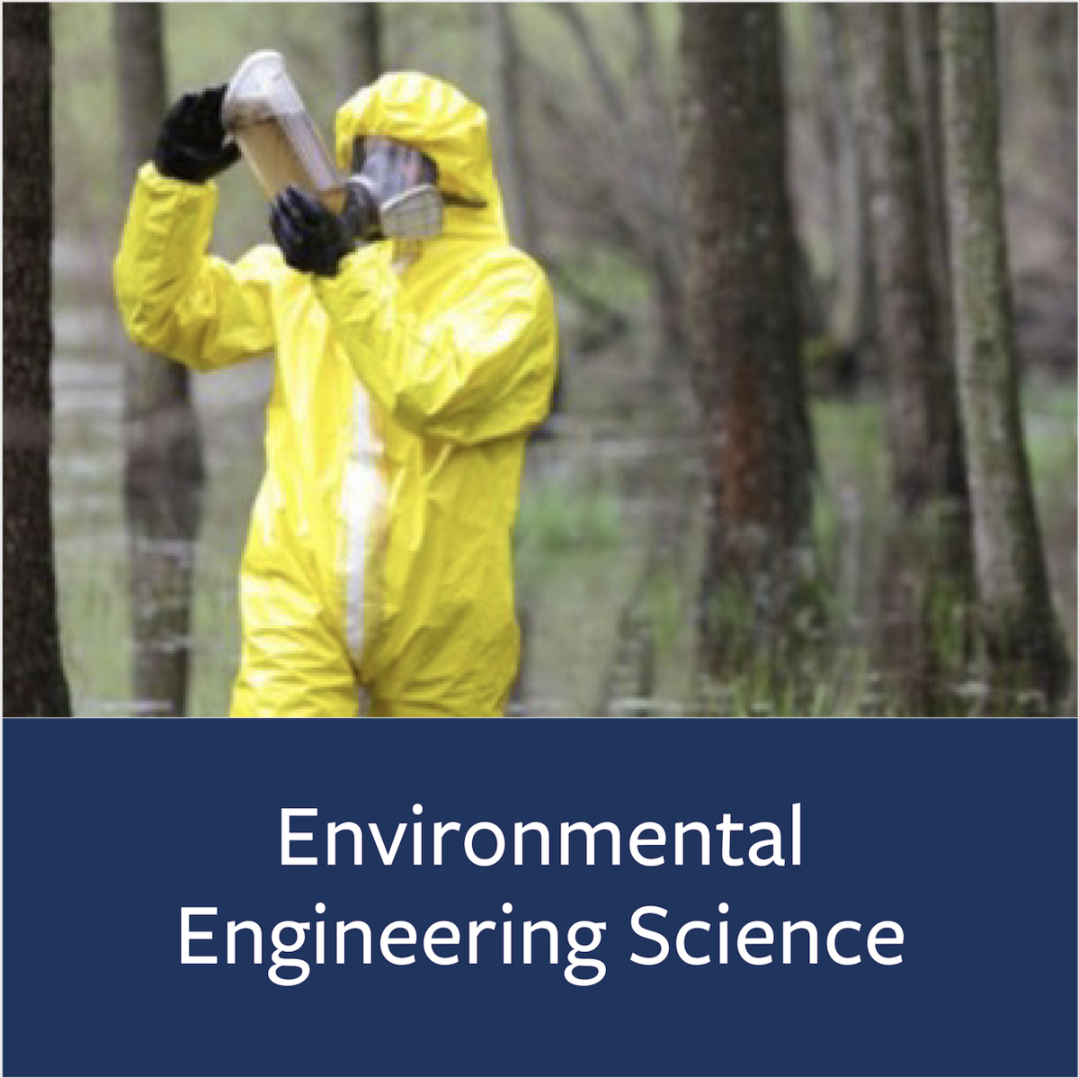Environmental Engineering Science Major Map