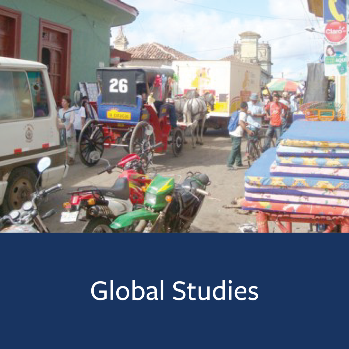 Global Studies Major Map