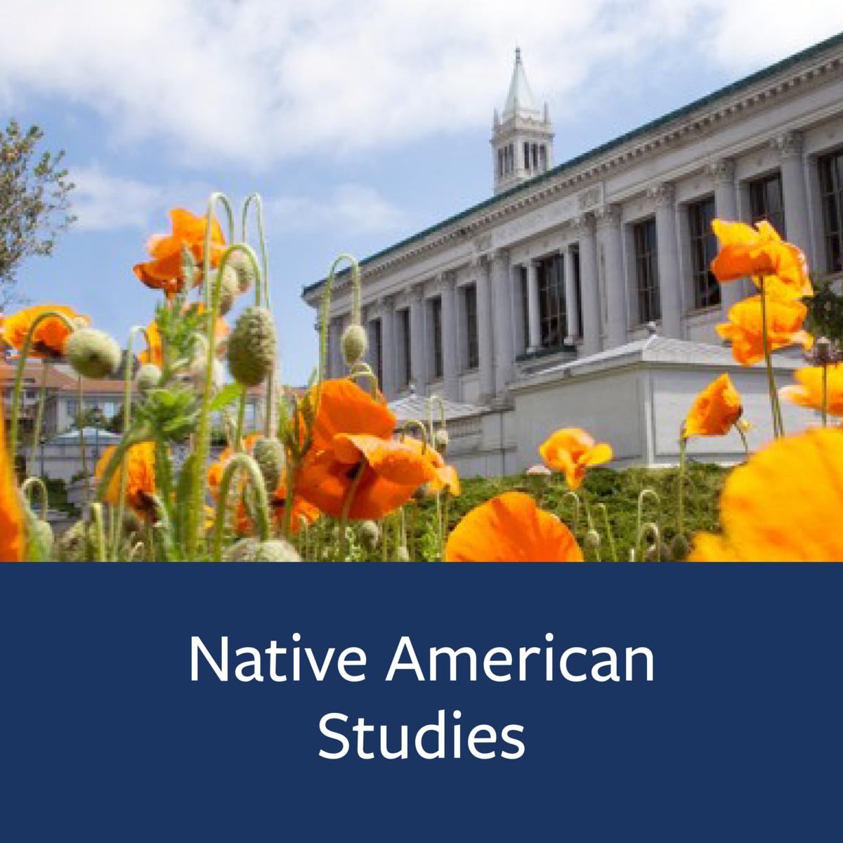 Native American Studies Major Map
