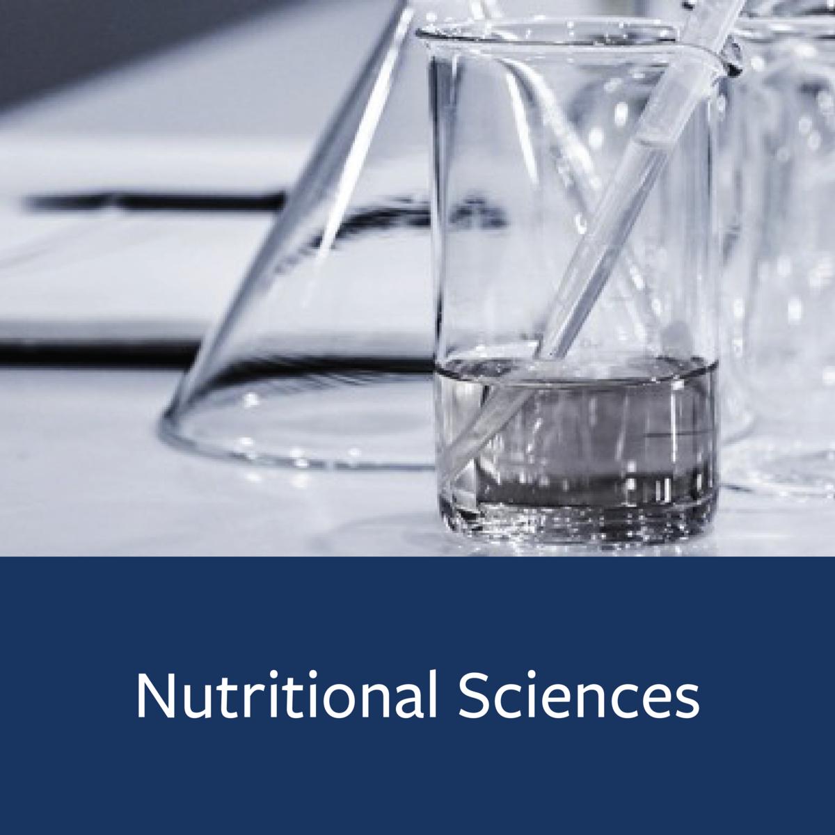 Nutritional Sciences Major Map
