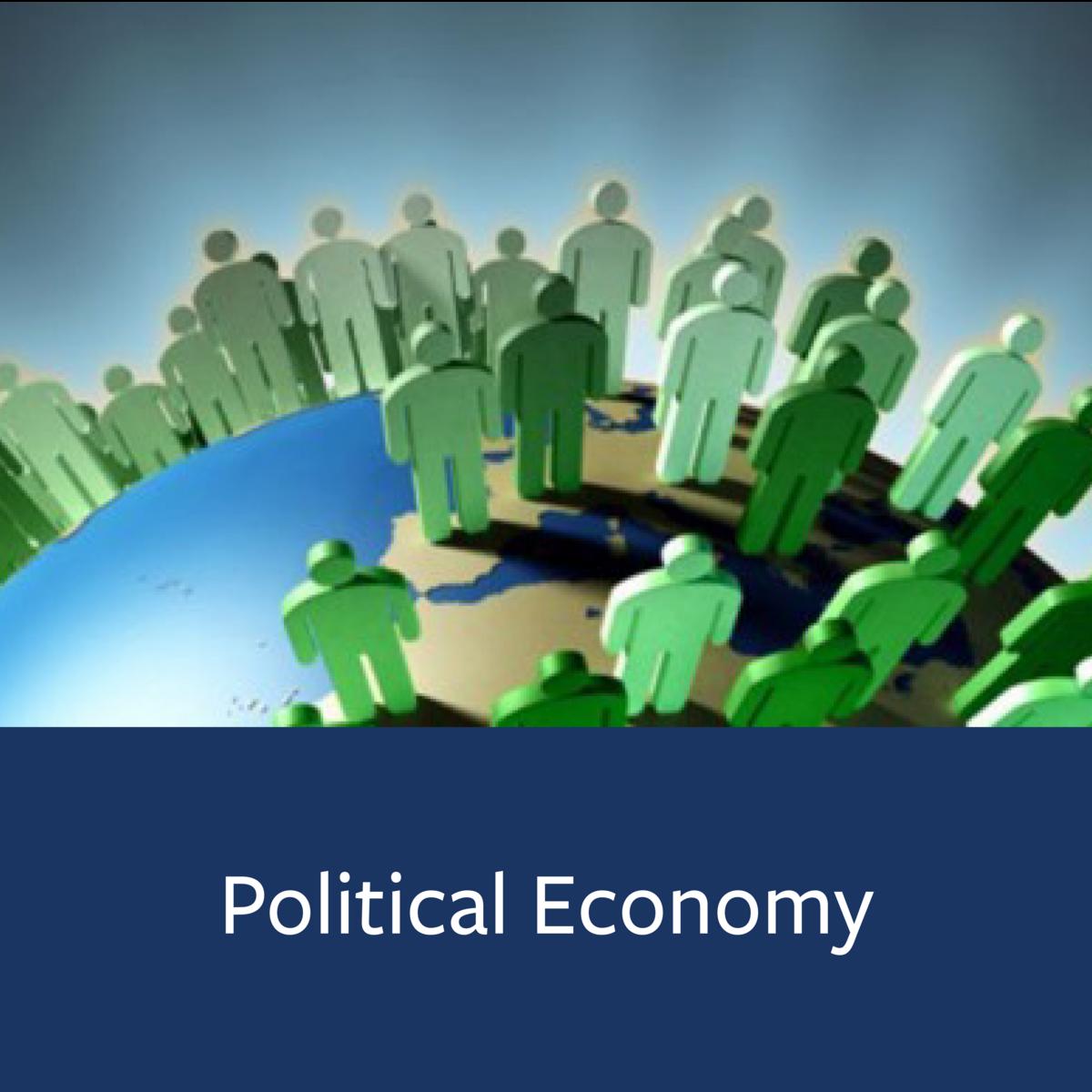 Political Economy Major Map