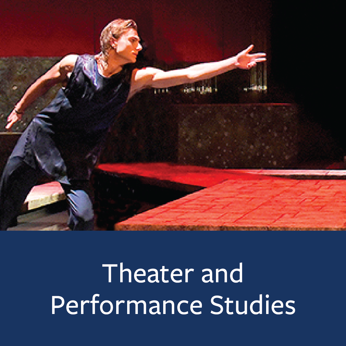 Theater and Performance Studies Major Map